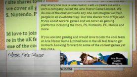 Arie Mazur Game Reviews Expert