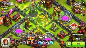 """CLASH OF CLANS – FLYING GOLEMS WTF! """"FUNNY MOMENTS+TOWN HALL 10,TH9,TH8 TROOP ATTACK STRATEGY! (NEW)"""