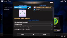How to add TV Shows into the XBMC UI