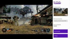 Twitch Broadcasting On Xbox One