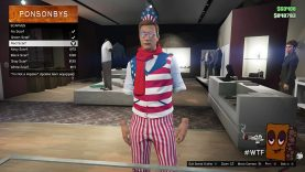 WTF? Where'd my arms go? Invisible arms and outfit glitch for Patch 1.25/1.27 (GTA 5 game play)