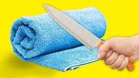 17 GENIUS LIFE HACKS WITH TOWELS
