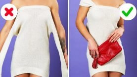 40 BRILLIANT CLOTHING HACKS THAT WON'T COST YOU A PENNY