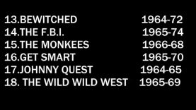 Top 30 TV Shows of the 1960s