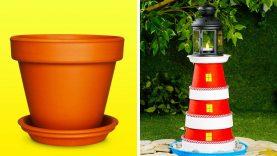 16 BEAUTIFUL DIY IDEAS FOR YOUR GARDEN
